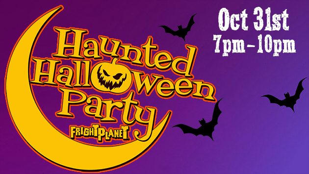 Haunted Halloween Party at the Fright Planet Park